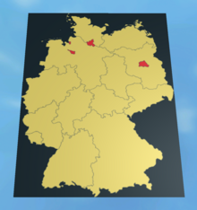 Germany-Map-Template