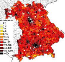 Bavaria-Population-Density