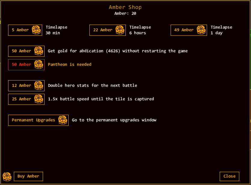 Amber | Territory Idle Wiki | FANDOM powered by Wikia