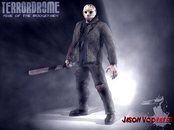 Undead Jason Voorhees Portrait