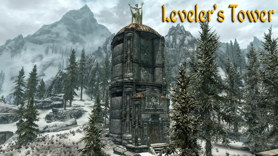 Leveler S Tower The Elder Scrolls Mods Wiki Fandom