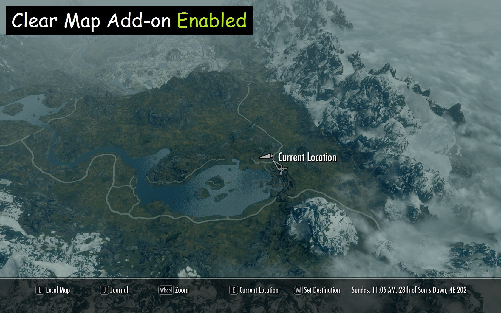 A Quality World Map And Solstheim Map - With Roads A Quality World Map | The Elder Scrolls Mods Wiki | Fandom
