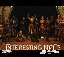 Interesting NPCs