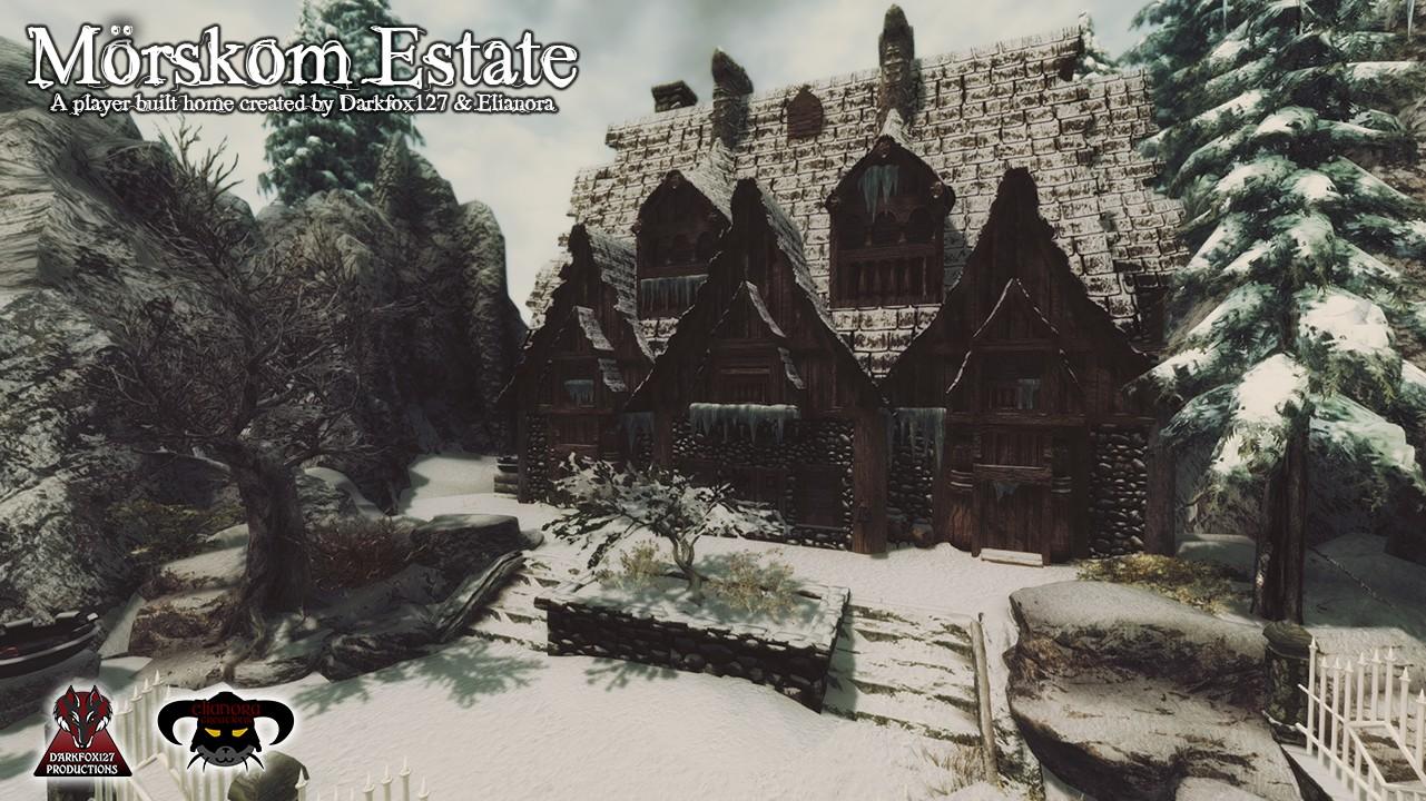 Terrific Morskom Estate The Elder Scrolls Mods Wiki Fandom Download Free Architecture Designs Rallybritishbridgeorg