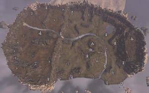 Falskaar map