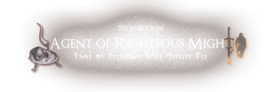 Agent of Righteous Might - Title