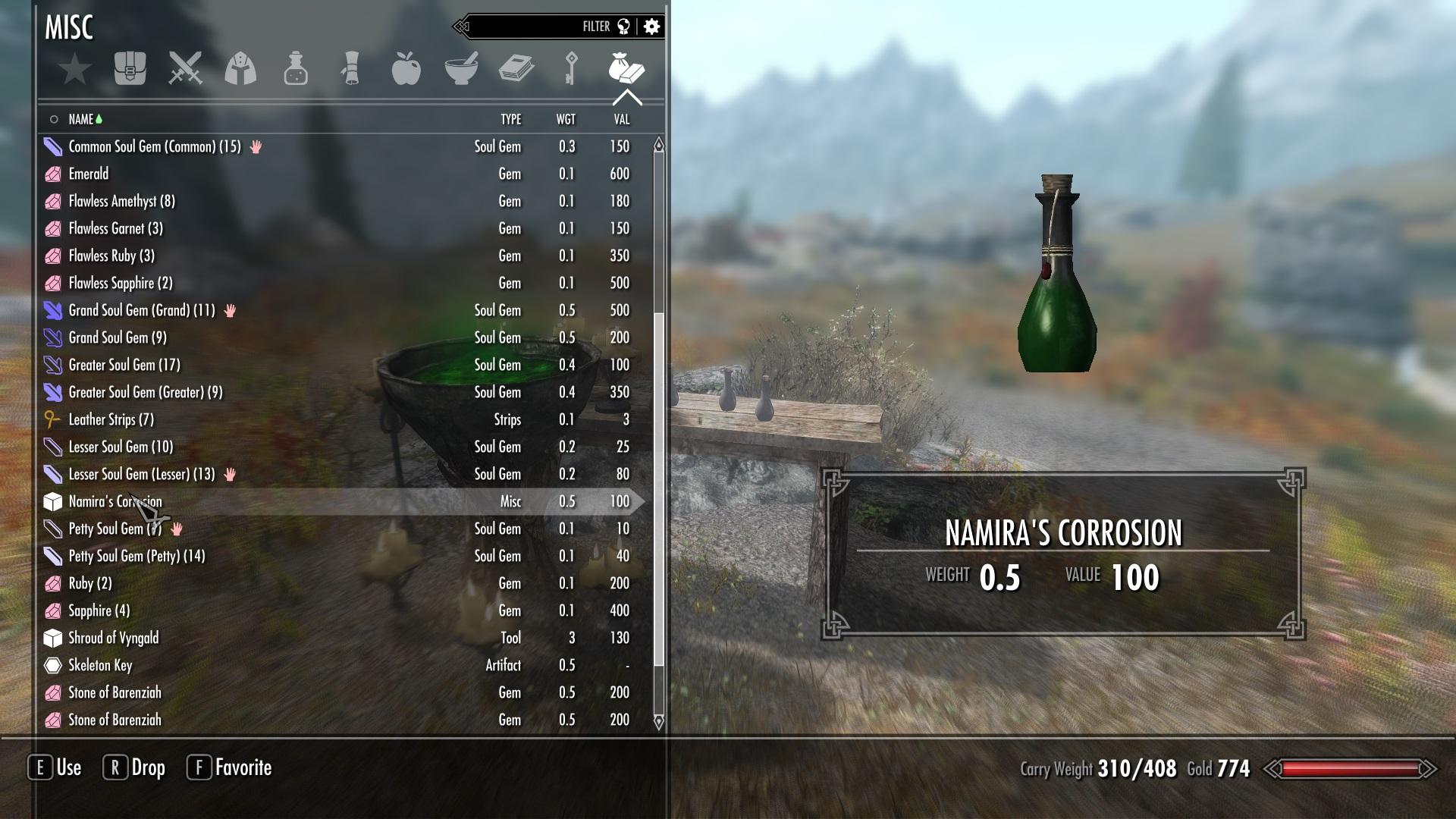 Namira's Corrosion | The Elder Scrolls Mods Wiki | FANDOM