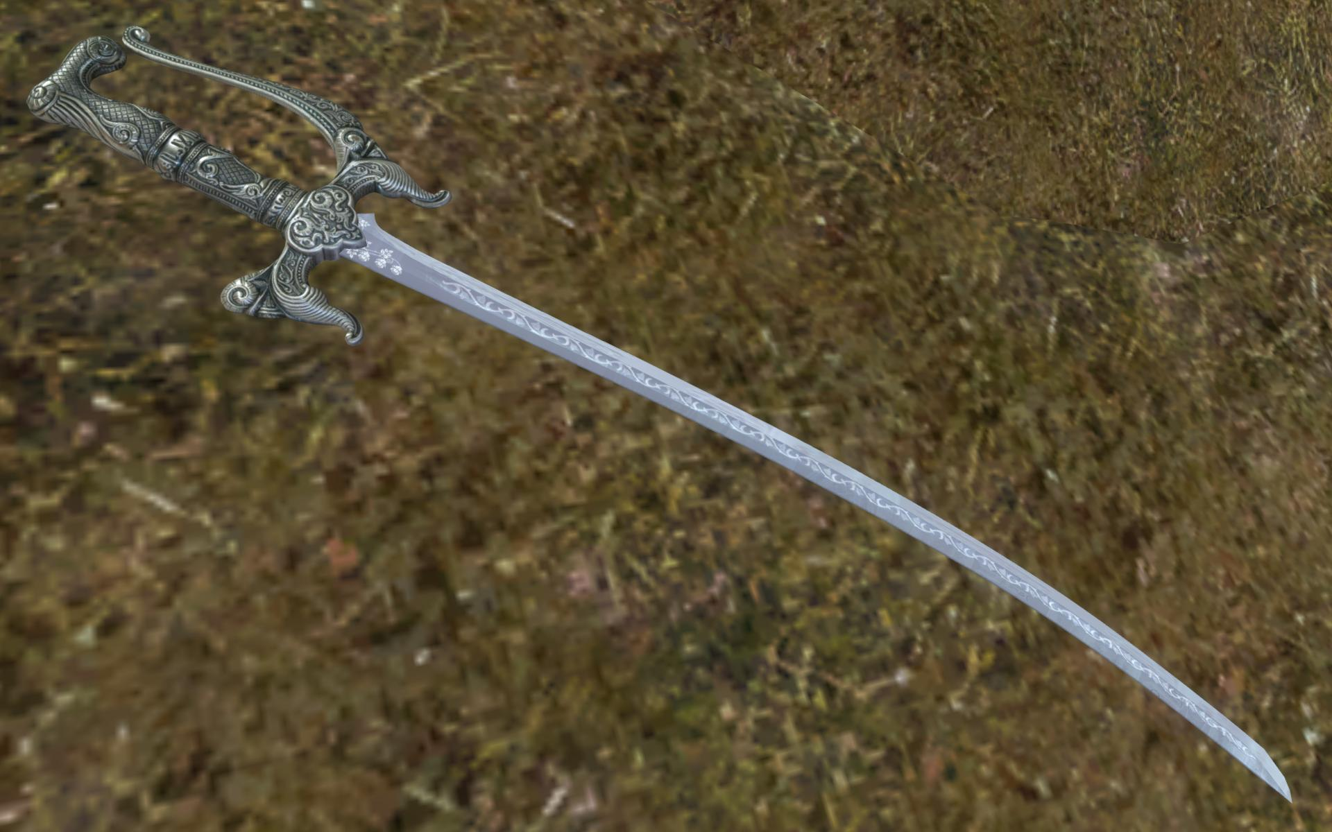 Alik'r Crown Scimitar | The Elder Scrolls Mods Wiki | FANDOM