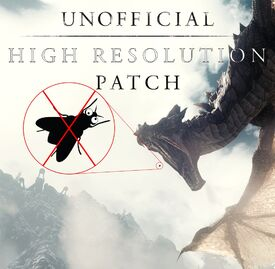 Unofficial High Resolution Patch - Title