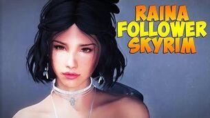 Skyrim Mods Review - Raina Follower