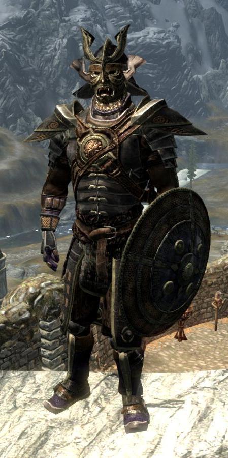 Antique Orcish Armor | The Elder Scrolls Mods Wiki | FANDOM powered