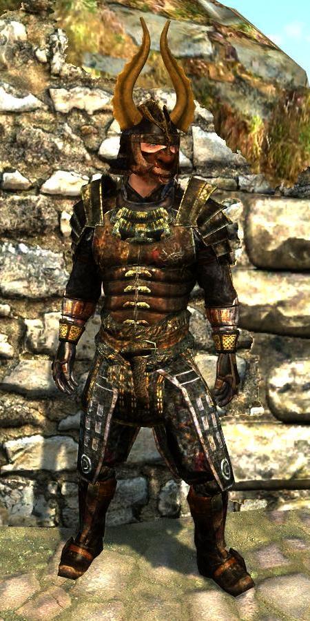 Akaviri Samurai Armor (Immersive Armors) | The Elder Scrolls