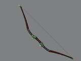 Emerald Gemstone Bow