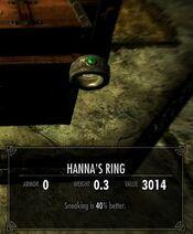 Skyrim Helgen Reborn Hanna's Ring