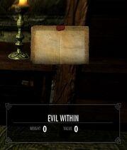 Skyrim Helgen Reborn Evil within