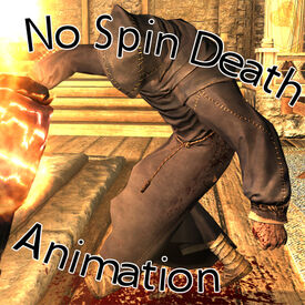 No Spinning Death Animation - Title
