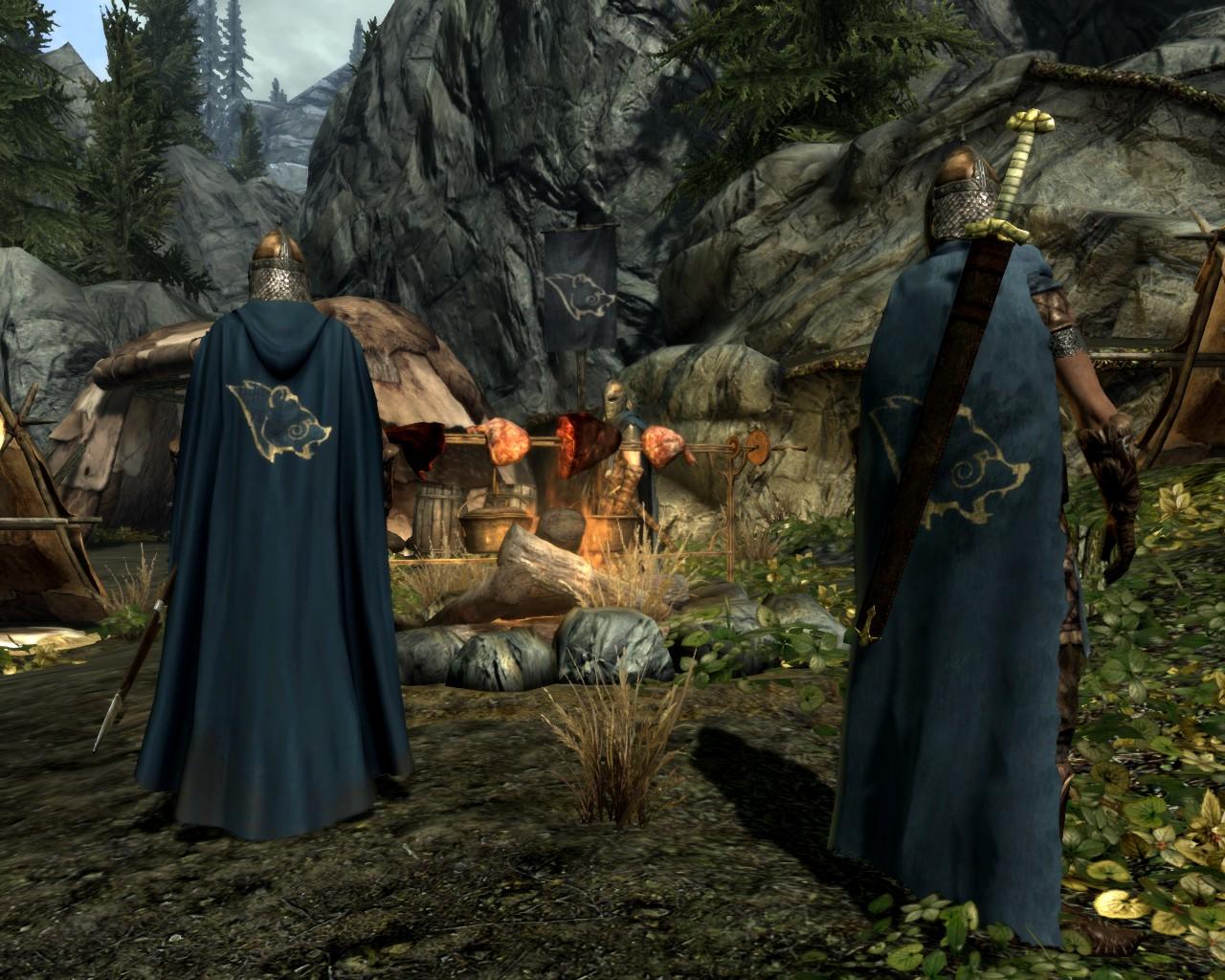 Cloaks Of Skyrim The Elder Scrolls Mods Wiki Fandom Powered By Wikia
