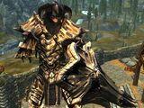 Dragonbone Ebonsteel Armor (Immersive Armors)
