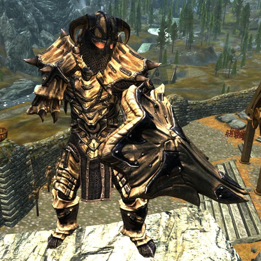 Dragonbone Ebonsteel Armor (Immersive Armors) | The Elder