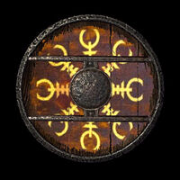 Heavy Splinted Round Shield - Variant 9