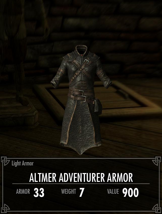 Altmer Adventurer Armor | The Elder Scrolls Mods Wiki