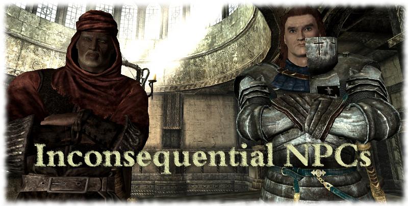 Inconsequential NPCs | The Elder Scrolls Mods Wiki | FANDOM powered