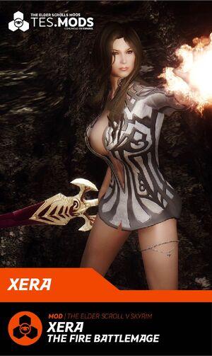 Xera Fire Battlemage CHAR