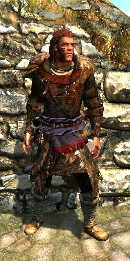 Nordic Hunter Armor The Elder Scrolls Mods Wiki Fandom