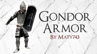 Skyrim Mod Spotlight Gondor Armor