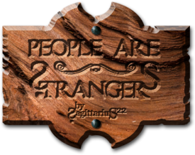People are Strangers - Title