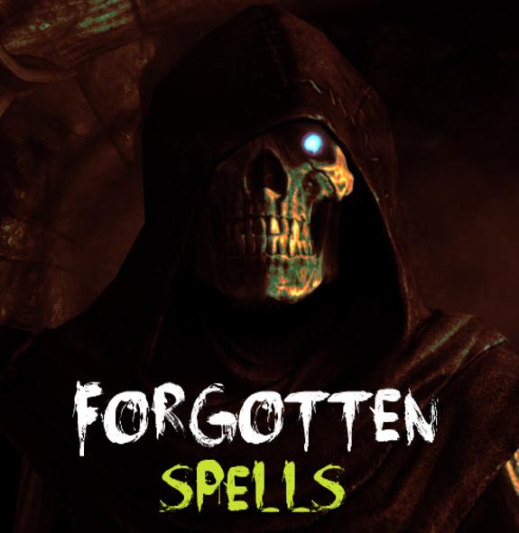Forgotten Spells | The Elder Scrolls Mods Wiki | FANDOM