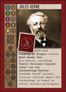 Jules Verne Tessera card