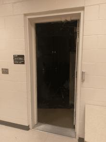 S in practice room