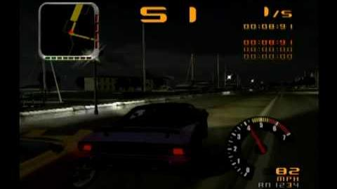 PS2 Test Drive (Overdrive) 2002 Story mode