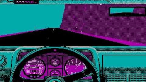 Test Drive (1987) - Ferrari Testarosa - GameGraveyard