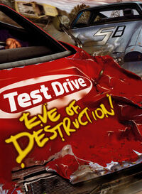 Test Drive Eve of Destruction cover