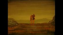 Adam and Eve leaving the Garden of Eden.