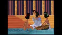 The Princess adopting Moses