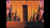 Ramses II palace in Memphis