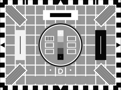 BBC Test Card D