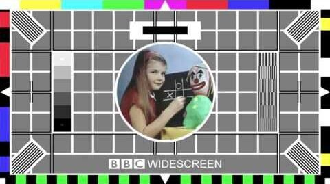 BBC Test cards on BBC HD Shutdown 26th March 2013
