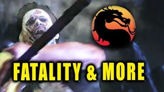 LEATHERFACE Fatality-Brutality-Combos-Music Video (Mortal Kombat X)