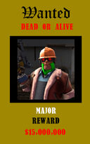 Major's Wanted Poster