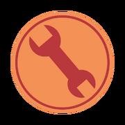 Engineer emblem RED