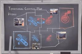 Territorial Control Map TC Hydro