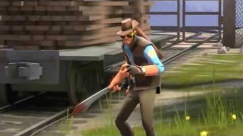 If weird sniper was a FF2 Boss.