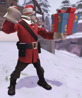 Santa Soldier