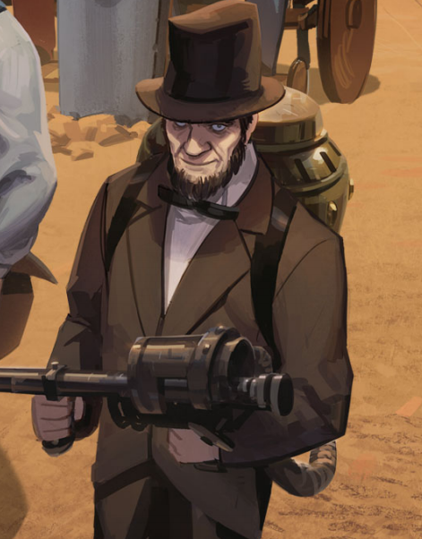 Abraham Lincoln Team Fortress Comics Wiki Fandom Powered By Wikia