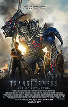 Transformers Age of Extinction (2014) poster
