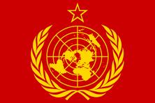 World socialist flag by frankoko-d4u7h7o